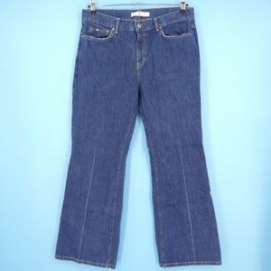Tommy Hilfiger Bootcut High Rise Cotton Jeans (E3)